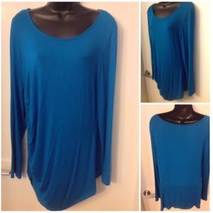 Tops - Beautiful Teal Top Sz XL-16 fit